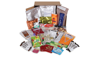British Army 24 Hour Ration Pack| Emergency Ration = long shelf life Emergency Food, quality nutrition with little or no food preparation required ideal for Emergency Preparedness | Emergency Food Rations from EVAQ8.co.uk the UK's Emergency Preparedness specialist