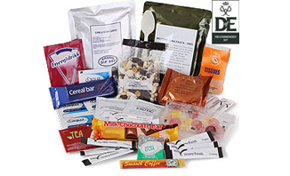 Day Ration Pack 3000 Kcal| Emergency Ration = long shelf life Emergency Food, quality nutrition with little or no food preparation required ideal for Emergency Preparedness | Emergency Food Rations from EVAQ8.co.uk the UK's Emergency Preparedness specialist